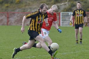 Anthony Hargan was superb  despite Ardmore's Junior Championship defeat to Moneymore.
