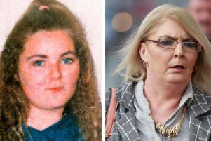 Left, Arlene Arkinson, who disappeared in August 1994, and, right, her sister Kathleen (PA Wire).