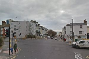 The junction of Upper Rock Gardens and Edward Street. Picture via Google Streetview