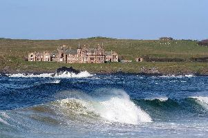 Runkerry House is prominently situated on a headland near Portballintrae