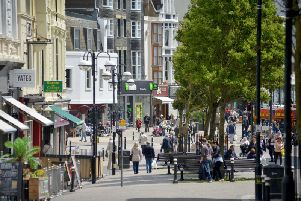 Hastings town centre