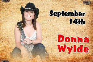 Donna Wylde is at Spanglers on Saturday.