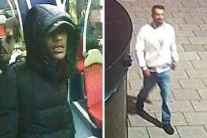 Police have released these images of the two suspects. Images courtesy of Sussex Police SUS-191120-181345001