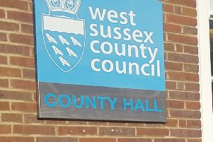 The meeting takes place at County Hall in Chichester