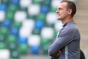 Coleraine manager Oran Kearney.  Photo by David Maginnis/Pacemaker Press