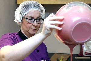 Chocolatier Geri Martin of Chocolate Manor in Coleraine is set to shape Northern Ireland's first chocolate experience centre