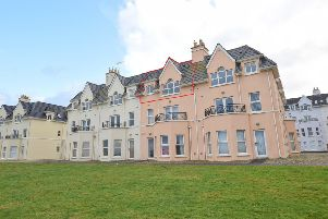 Penthouse Apartment: 75  West Strand Avenue, Portrush