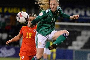 Northern Ireland international Lauren Wade has joined Glasgow City