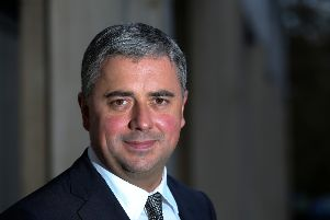 Stewart Wingate, chief executive officer at Gatwick Airport (photo supplied by Gatwick Airport). SUS-161010-130118001