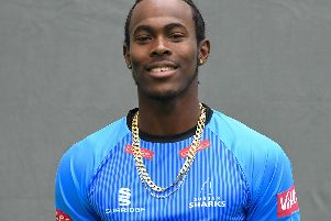 Jofra Archer / Picture by PW Sporting Photography