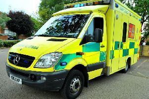 A woman paramedic was attacked