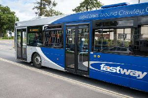 The current Fastway bus