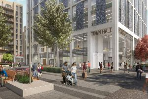 How the redeveloped Crawley Town Hall will look