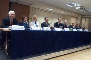 Last year's Crawley Question Time panel