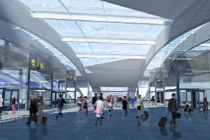 Gatwick Airport Railway Station Plans