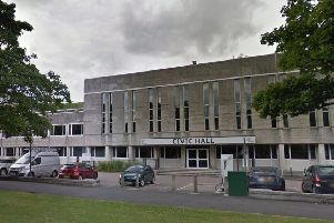 Crawley Civic Hall. Photo: Google Street Maps