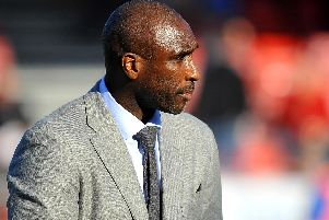 Sol Campbell. Picture by Steve Robards