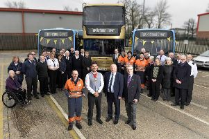 Metrobus Crawley celebrates Top National Bus Depot award