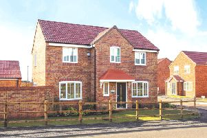 How one of the four-bedroomed Rippon homes set for Navenby could look. Image supplied.