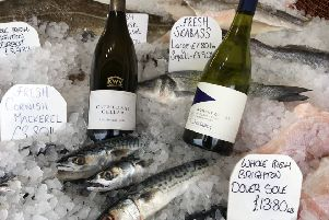 Fresh fish and New World chardonnay