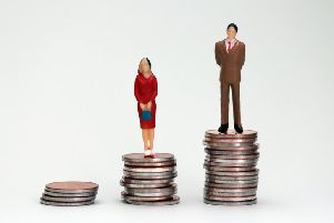 The scale of the gender pay gap in Crawley was discussed by councillors this week