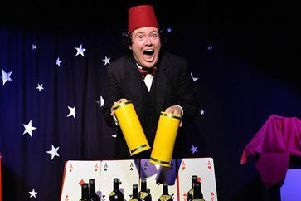 John Hewer brings the magic and mirth of Tommy Cooper to life EMN-190318-062049001