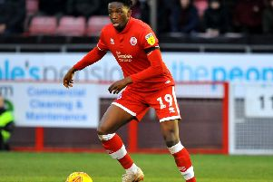 Crawley Town FC v Oldham Athletic FC. Matty Willock. Pic Steve Robards SR1903716 SUS-191102-111946001