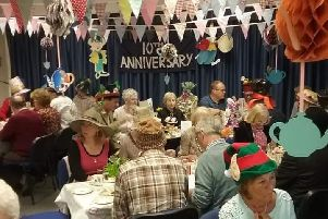 Pickworth villagers enjoying their Mad Hatter Tea Party EMN-190804-164042001