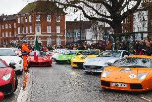 Premier GT supercars will be in the town centre on Easte Monday. Picture: Toby Phillips Photography SUS-190416-100912001