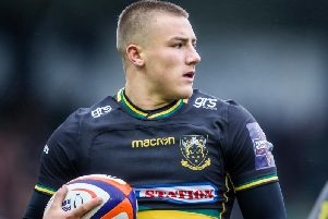 Ollie Sleightholme starts for the Wanderers against Saracens Storm
