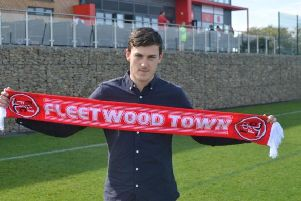 Ashley Nadesan. Picture courtesy of Fleetwood Town