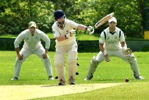Egerton Park had to work hard for their runs on Sunday. Jacob Bates is at the crease EMN-190514-174251002
