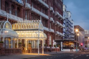 The seafront hotel
