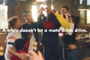 A mate doesn't let a mate drink, says Surrey Police