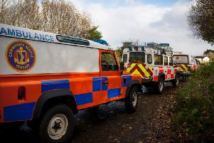 The Community Rescue Service (C.R.S.) was involved in the operation. (Library image)