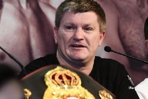 Former two time world champion Ricky Hatton is backing plans to bring professional back to Derry City
