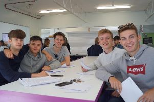 Tom Woolnagh (right) and Alex Pendle (second, right) spoke to us about their results and future ambitions