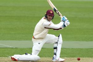 Rob Keogh hit a ton against Leicestershire