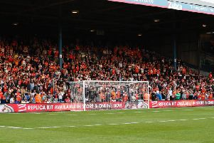 Town are back at Kenilworth Road this weekend
