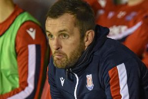 Stoke City boss Nathan Jones. Picture by PW Sporting Photography