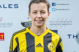 Crawlley Wasps' Faye Rabson. Picture by Ben Davidson