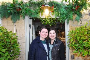 Kirsty Kershaw and Kate Mace of Leadenham Teahouse are helping to plan the artisan market. EMN-190930-163726001