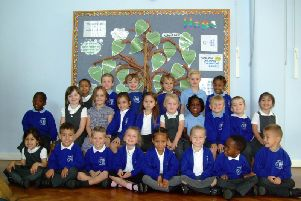 Butterfly reception class, St Margaret's Primary School