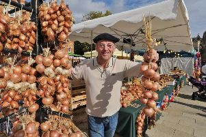 French market  returns to Cathedral Square.