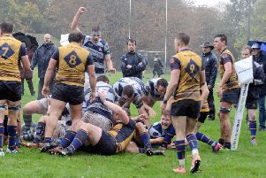 Chichester in action v Cobham / Picture by Kate Shemilt