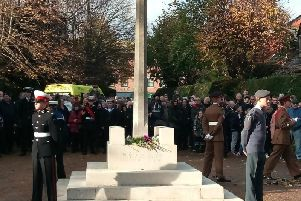 Remembrance Sunday 2017 in Crawley