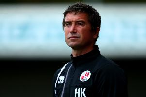Former Crawley Town boss Harry Kewell. Picture courtesy of Getty Images