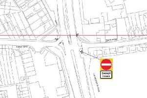 Oving Lights TRO schematic. Photo: West Sussex County Council