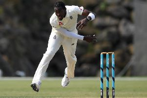 Jofra Archer in action for England in New Zealand / Picture: Getty Images