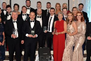 The 2019 winners of the Mid Ulster Business Awards.